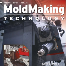 Cape Fear Mold in Mold Making Technology Magazine for complex mold build